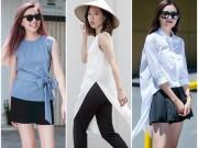 Thời trang - Ghen tị với váy áo phá cách và mát mẻ của bạn gái Sài Gòn