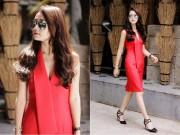 Thời trang - Tư vấn thời trang: Mặc đẹp lúc giao mùa với 3 màu cơ bản