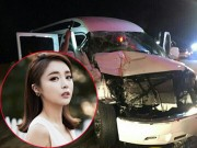 """Làng sao - """"Nữ hoàng nhạc trot"""" xứ Hàn gặp tai nạn xe kinh hoàng"""
