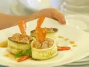 Bếp Eva - Cà tím cuộn tôm thịt ngon miệng, tốt cho sức khỏe