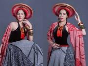 Thời trang - Lộ diện trang phục dân tộc lạ mắt của Á khôi Lệ Quyên