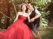 Siêu mẫu Ngọc Tình chụp ảnh cưới trong rừng sâu