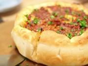 Bếp Eva - Bánh pizza kiểu Chicago ngon mê