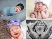 8 khoảnh khắc trẻ sơ sinh bố mẹ chớ quên chụp lại!