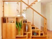 Nhà đẹp - Muôn cách tận dụng gầm cầu thang chứa đồ cho nhà nhỏ