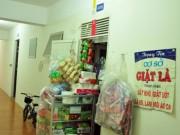 Tin tức - Hàng tạp hóa, tiệm gội đầu mọc lên giữa hành lang chung cư