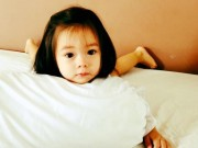 """Làng sao - Con gái Đoan Trang """"đốn tim"""" fan bởi vẻ đẹp thiên thần"""