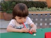 Thổi không khí - hoạt động thúc đẩy khả năng nói của trẻ