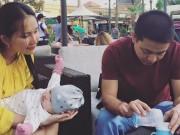 Làng sao - Kim Hiền đưa con gái nhỏ đi chơi cuối tuần