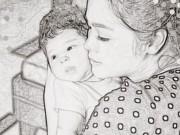 Làng sao - Nhật Kim Anh khoe khéo con trai hơn 1 tháng tuổi