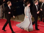 Làng sao - Vợ chồng Hoàng tử William rủ nhau đi xem James Bond