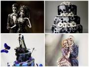 Bếp Eva - Rùng rợn với những chiếc bánh cưới Halloween