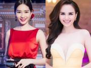 Làng sao - Thu Thảo sang trọng đối lập Diễm Hương sexy tại sự kiện