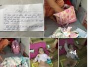 Tin tức - Xót xa bé gái 3 tháng tuổi bị mẹ bỏ rơi ở quán nước