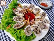 Bếp Eva - Mực nhồi thịt chiên vàng đầy hấp dẫn