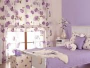 Nhà đẹp - Trang trí nhà ấn tượng với sắc tím oải hương