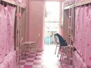 Nhà đẹp - Ký túc xá toàn màu hồng của nhóm nam sinh hớp hồn dân mạng