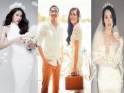 Thời trang - Những chiếc váy cưới ngắm là mê của mỹ nhân Việt