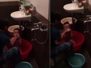 Làm mẹ - Hà Nội: Phẫn nộ người giúp việc bạo hành bé 3 tuổi khi tắm