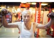 Làm đẹp - Cụ già 93 tuổi vẫn nghiện tập gym