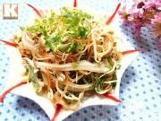 Bếp Eva - Nộm tai lợn hoa chuối thanh mát cuối tuần