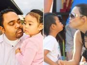 Làng sao - Thu Phương - Dũng Taylor hạnh phúc bên 2 con