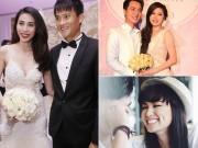 Làng sao - Những đám cưới sau khi có con của Sao Việt