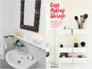 Nhà đẹp - 6 mẹo cực đỉnh nới rộng phòng tắm cho nhà nhỏ