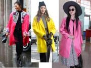 Thời trang - Trẻ trung và tràn đầy năng lượng với áo khoác neon