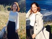 Xem & Đọc - Lan Phương rạng rỡ đi công tác tại đảo Okinoshima