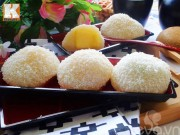 Bếp Eva - Bánh mochi nhân hoa quả ngon như tiệm