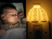 Làm mẹ - Tai hại 'giật mình' khi để trẻ sơ sinh ngủ dưới ánh đèn