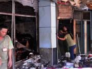 Tin tức - TPHCM: Cháy chợ rạng sáng, nhiều gian hàng bị thiêu rụi