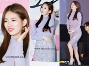 Làng sao - Bạn gái Lee Min Ho đẹp ngọt ngào tại buổi họp báo