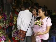 Ế ẩm thị trường hoa tươi 20.11