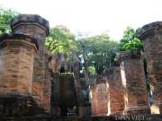 Độc đáo kiến trúc Tháp Bà Ponagar ở Nha Trang