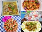 Bếp Eva - Chiều Chủ nhật nấu nhiều món ăn ngon