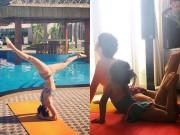 Làm mẹ - Bà mẹ 2 con Sài Thành dáng siêu đẹp nhờ tập yoga