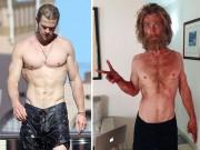 Mỹ nam Hollywood gây sốc vì thân hình tiều tụy