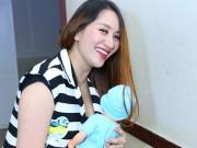 Bà bầu - Học Khánh Thi cách giảm cân sau sinh ngay tại nhà