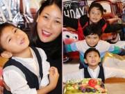 Làng sao - Quý tử nhà Hà Kiều Anh thân thiết với con trai Jennifer Phạm