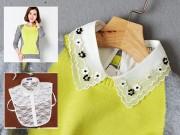 Thời trang - Tăng sức hấp hẫn cho áo len nhờ cổ áo sơ mi giả