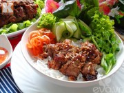 Bếp Eva - Bún thịt bò nướng mè thơm ngon khó cưỡng