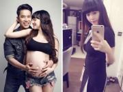 Bạn gái Lê Hoàng lấy lại vòng eo 60cm sau sinh 3 tuần