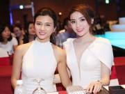 Làng sao - HH Kỳ Duyên gợi cảm đọ sắc cạnh đàn chị Kim Tuyến
