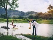 Eva Yêu - Ảnh cưới sông nước miền Tây của cặp đôi Việt kiều Mỹ