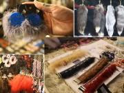 Thời trang - Phụ kiện lông thống trị thời trang Giáng Sinh Thái Lan