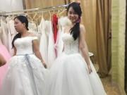Tin tức thời trang - Trào lưu mua váy cưới lên ngôi