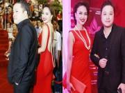 Làng sao - Đinh Ngọc Diệp tình tứ bên ông xã Victor Vũ trên thảm đỏ