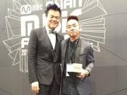 Phúc Bồ bất ngờ nhận giải cùng JYP tại MAMA 2015